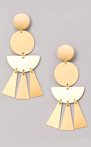 Main Event Gold Earrings