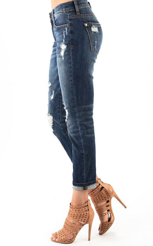 Best EVER Boyfriend Jeans Dark Wash, RESTOCKING SOON!