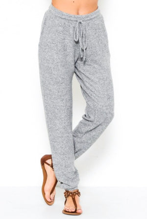 z Softest Ever Jogger Heather Grey, SMALL