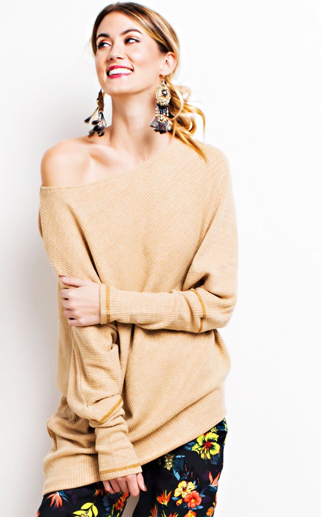 How Sweet It Is Waffle Knit Tunic