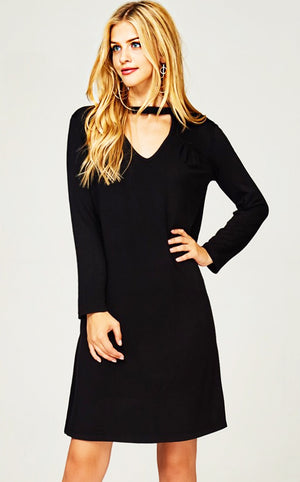 Soft & Chic Black Dress