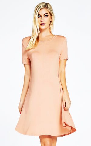 Win Your Heart Blush Dress