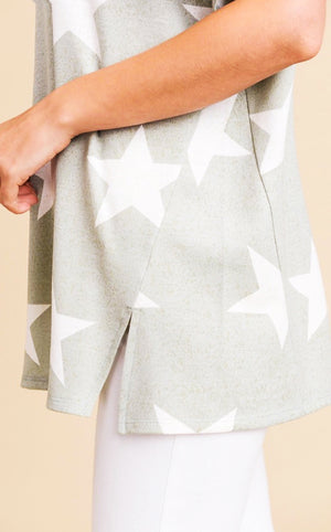 Star Struck Sage Top