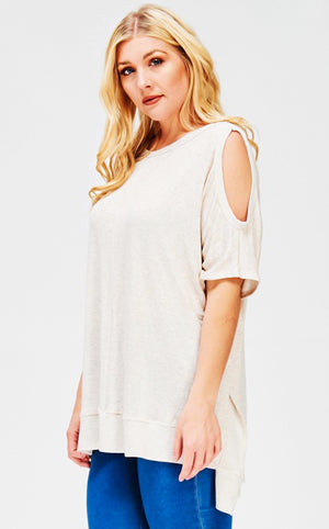 Cozy By the Fire Short Sleeve Top, 3X