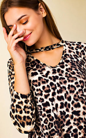 Wild At Heart Leopard Tunic, 3X!