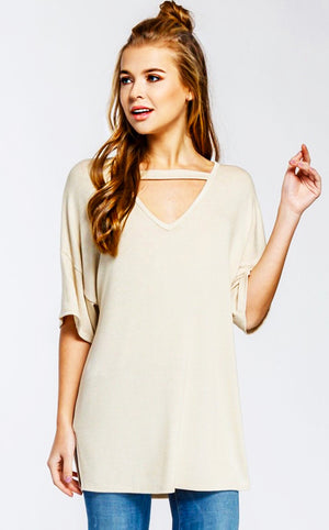 Blonde Ambition Ivory Top, SMALL & MED