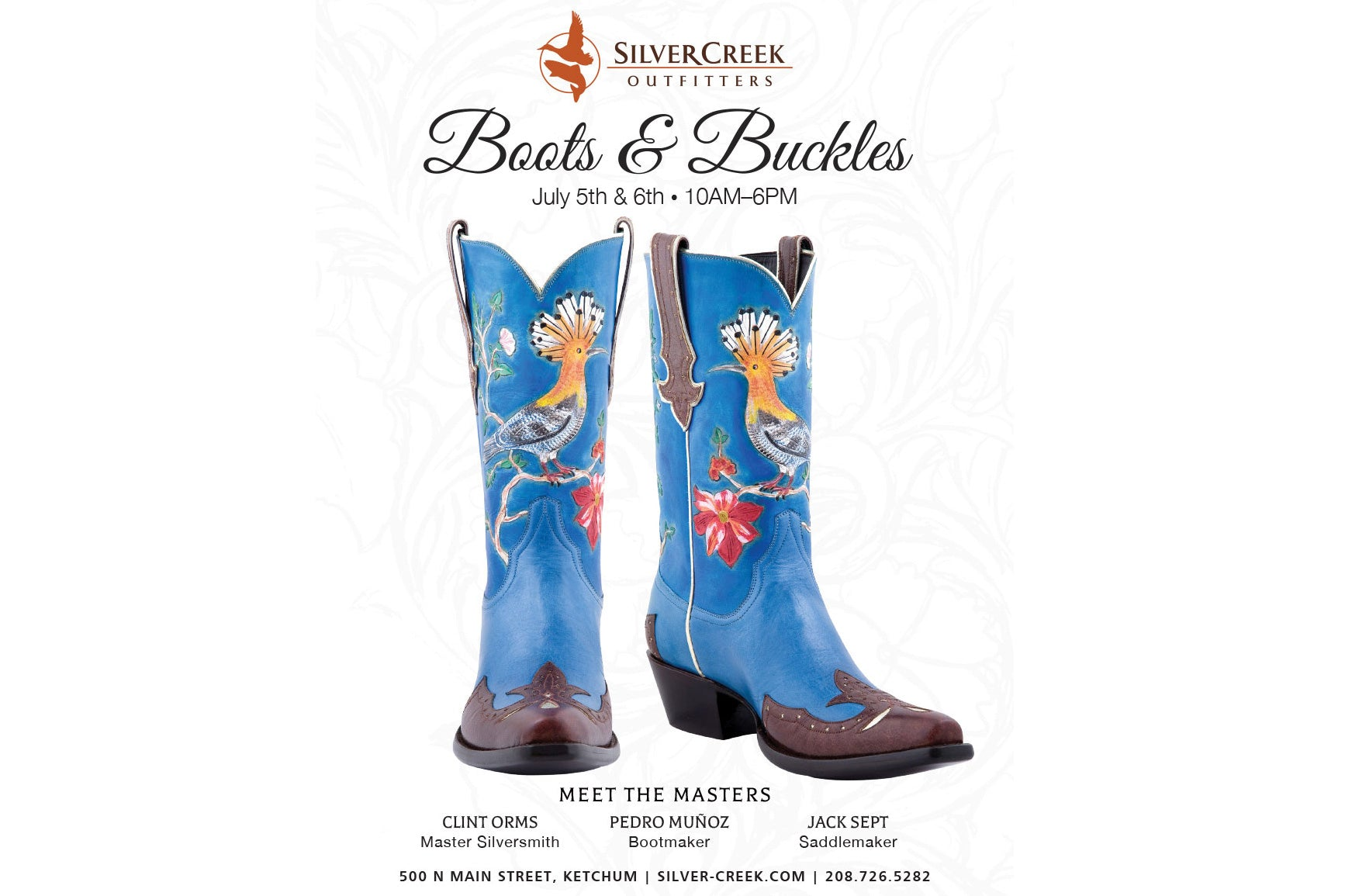 2019 Boots & Buckles – Meet The Masters.
