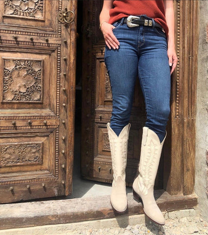 Amarillo CITY Boots with Clint Orms Buckle