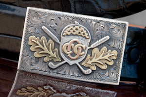 Custom Buckle - Zavala Custom - Clint Orms