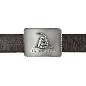 "Brandes 1809 ""Don't Tread on Me"" Gadsden Flag Trophy Buckle"