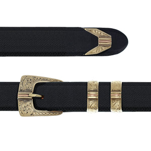 Clay 1844 Gold Dress Buckle Set