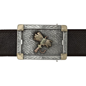 Martin 1836 Tri-Gold Fly Trophy Buckle