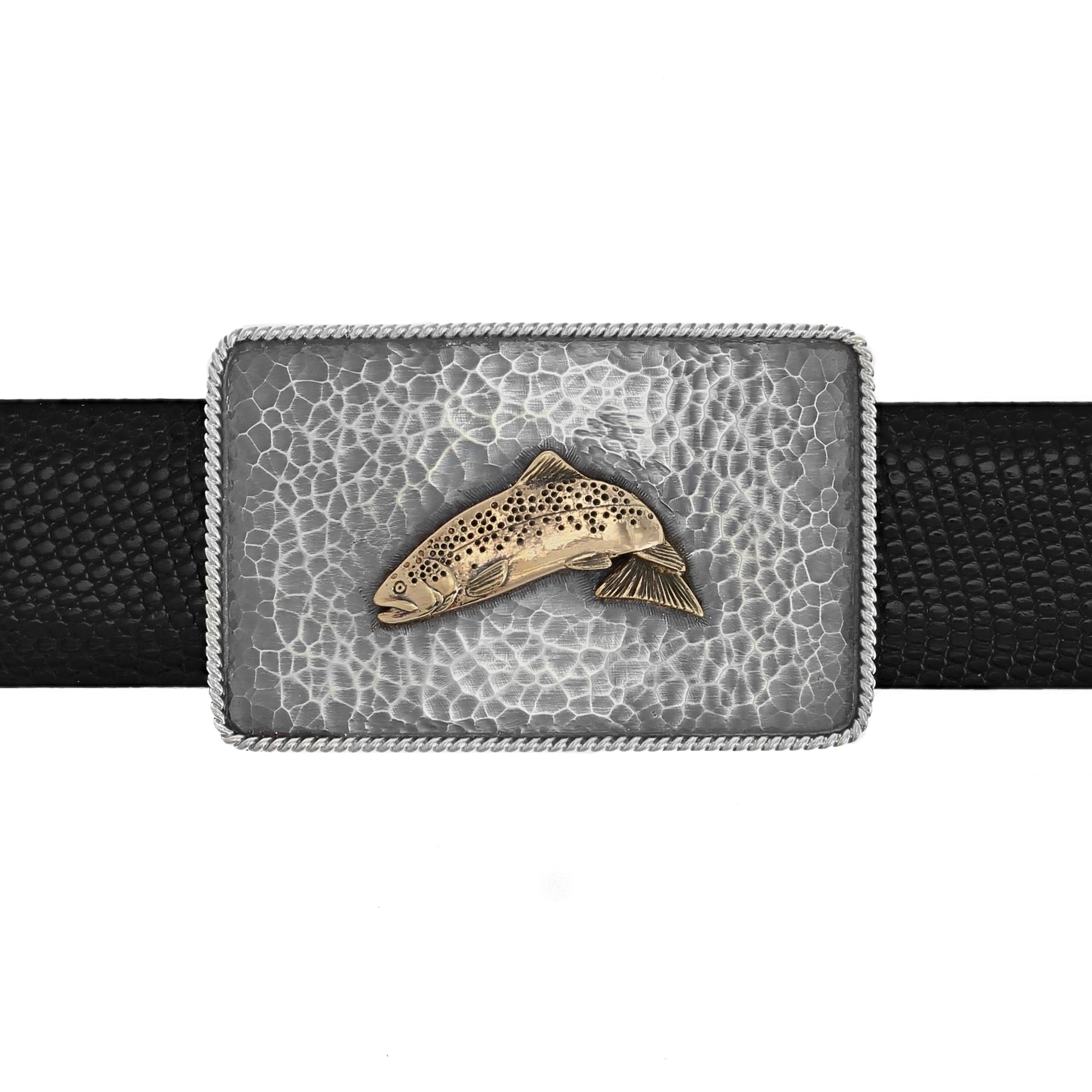 Silver Creek 1407 Gold Trout Trophy buckle