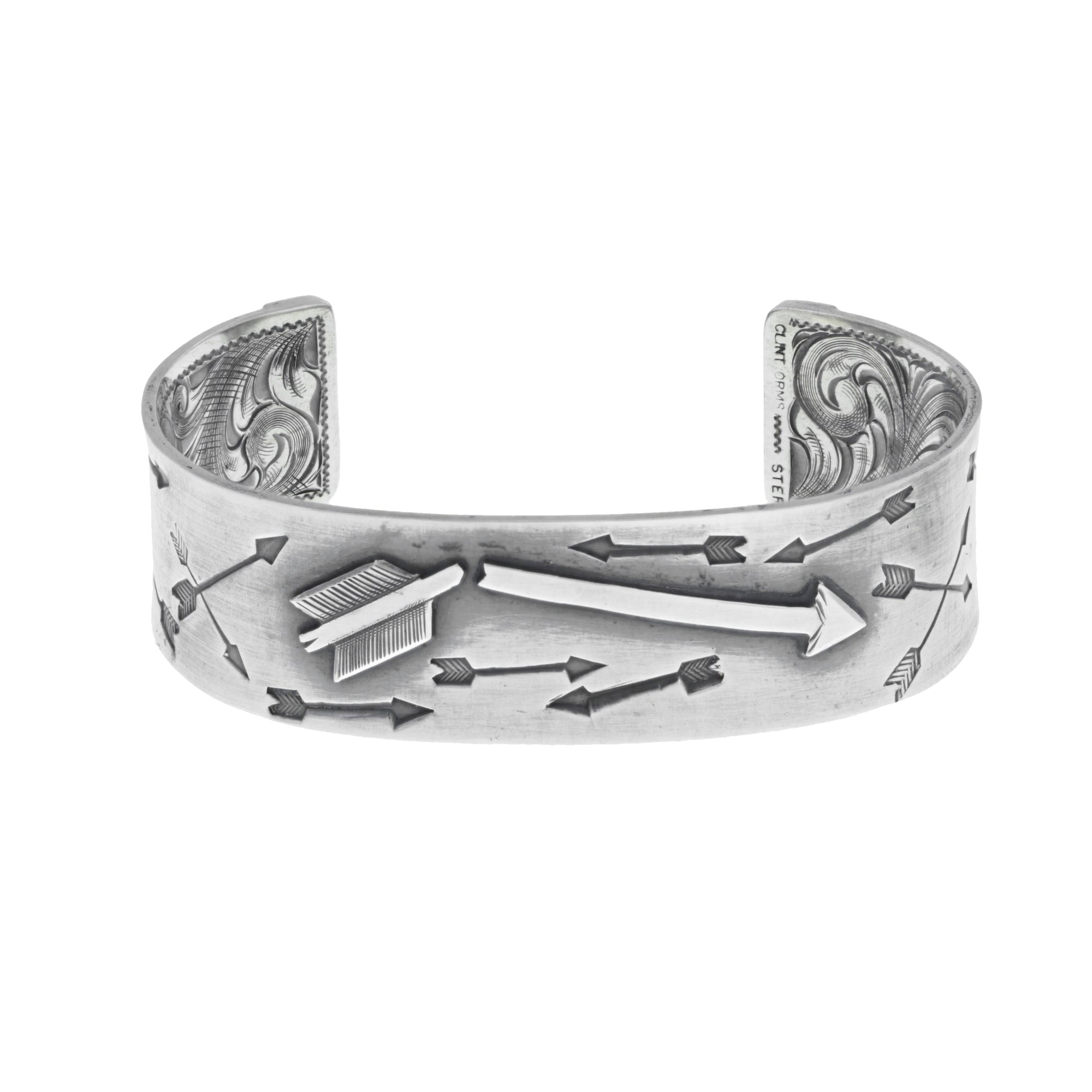 Bracelet 1814 Sterling Silver Broken Arrow Cuff