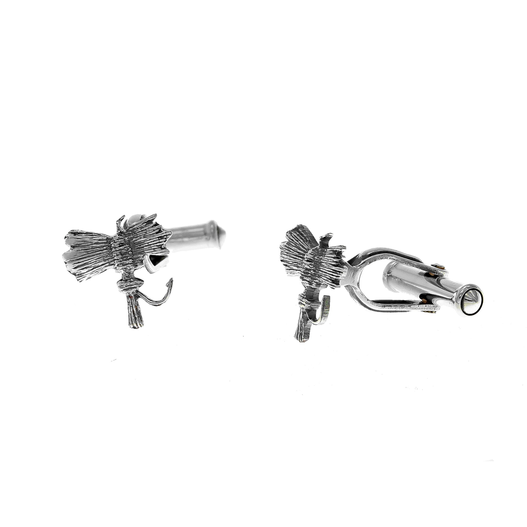 Cuff Links 2041 Sterling Fly