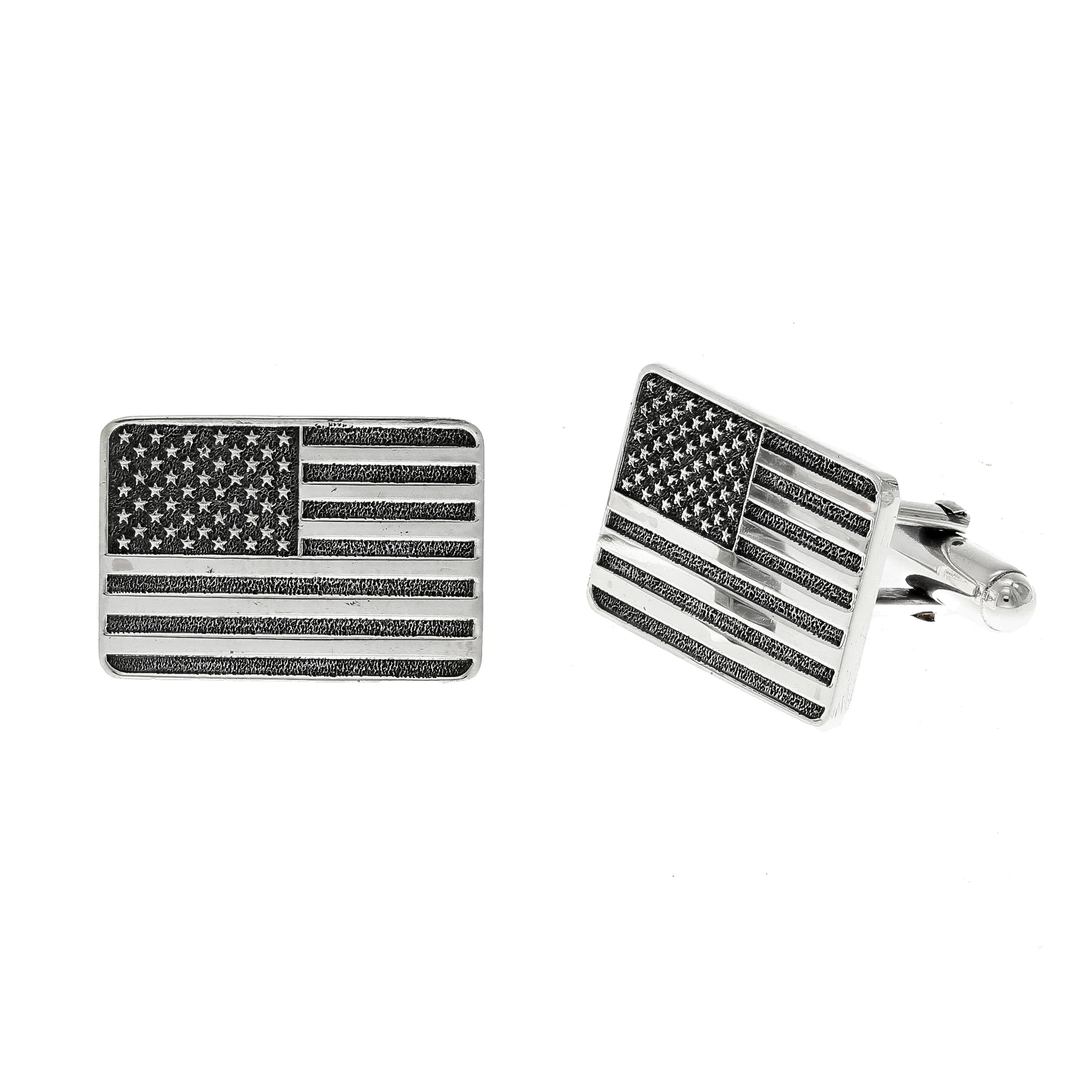 Cuff Links 2051 Brandes American Flag