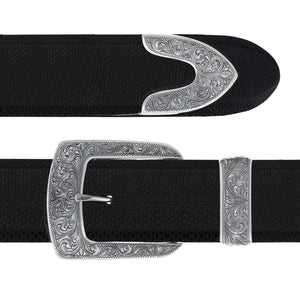 Galveston 1826 Sterling Silver Buckle Set