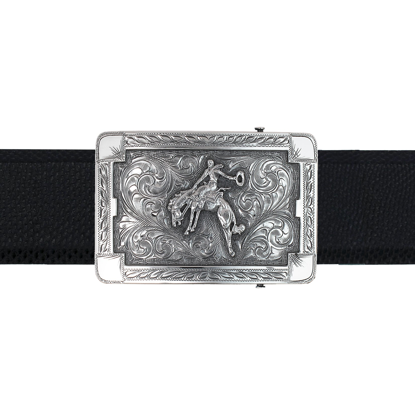 Martin 1803 Sterling Bronc Rider Trophy Buckle