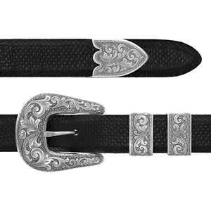 Pecos 2056 Sterling Buckle Set