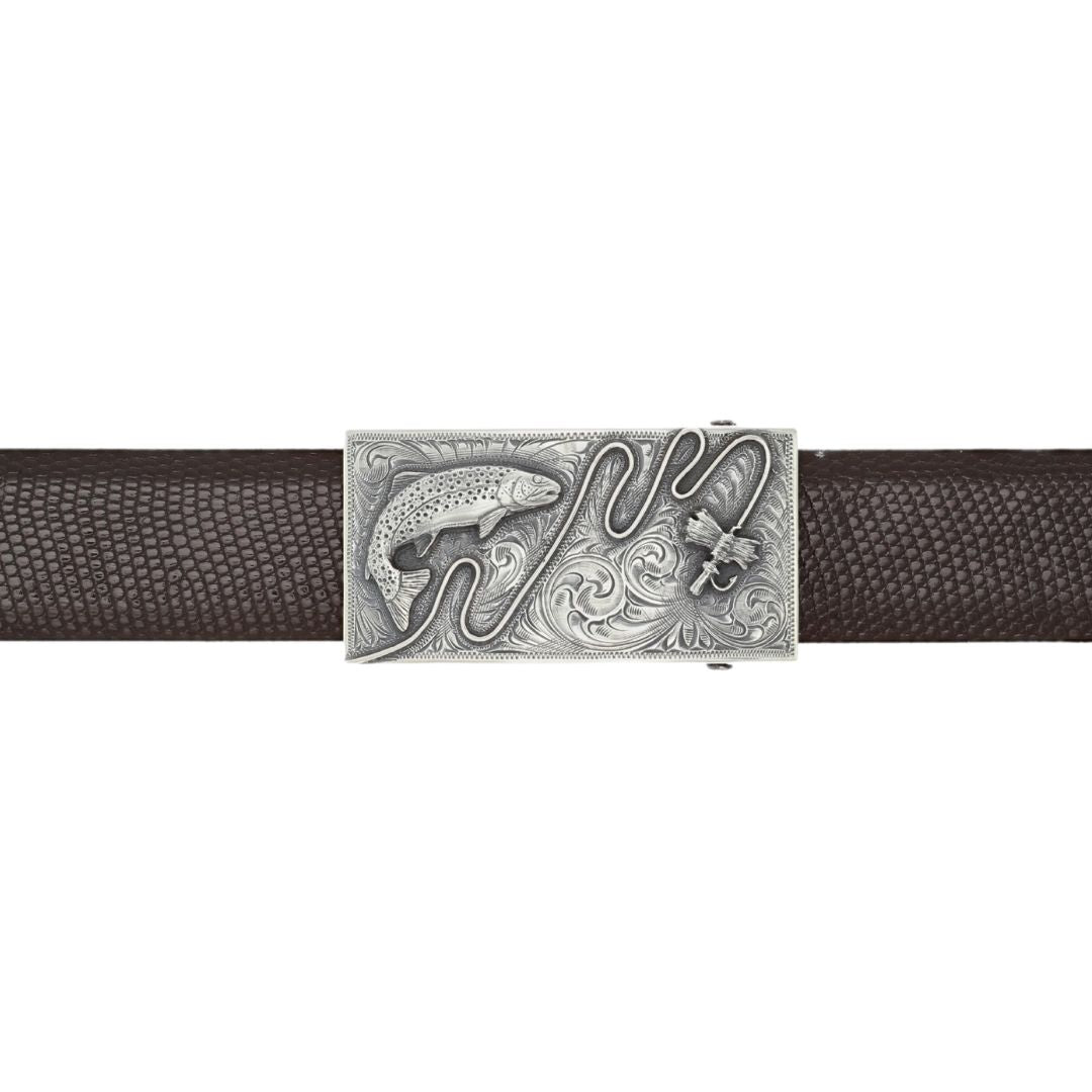 Wheeler 1801 Sterling Silver Fly Fishing Buckle