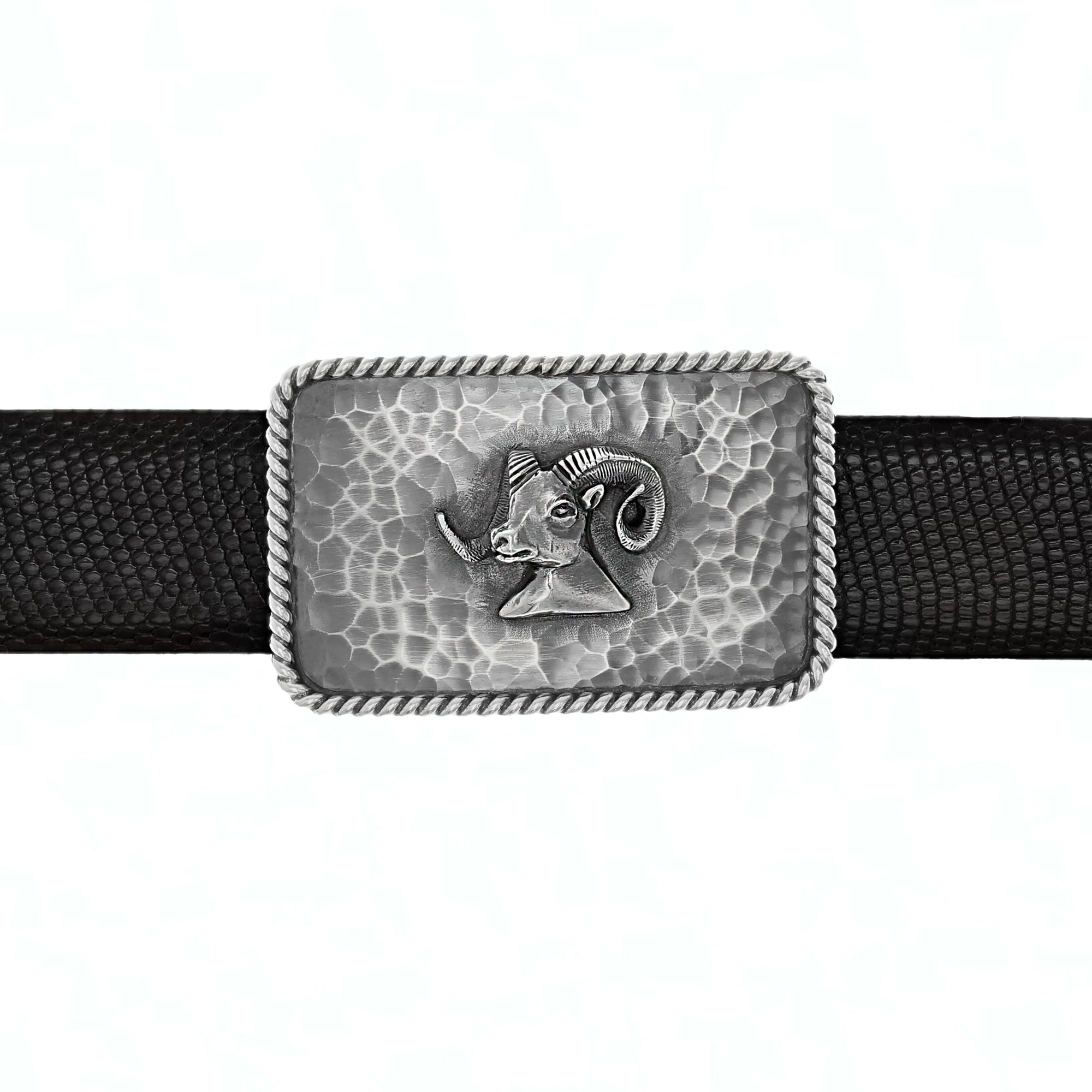 Zapata 1406 Ram Head Trophy Buckle