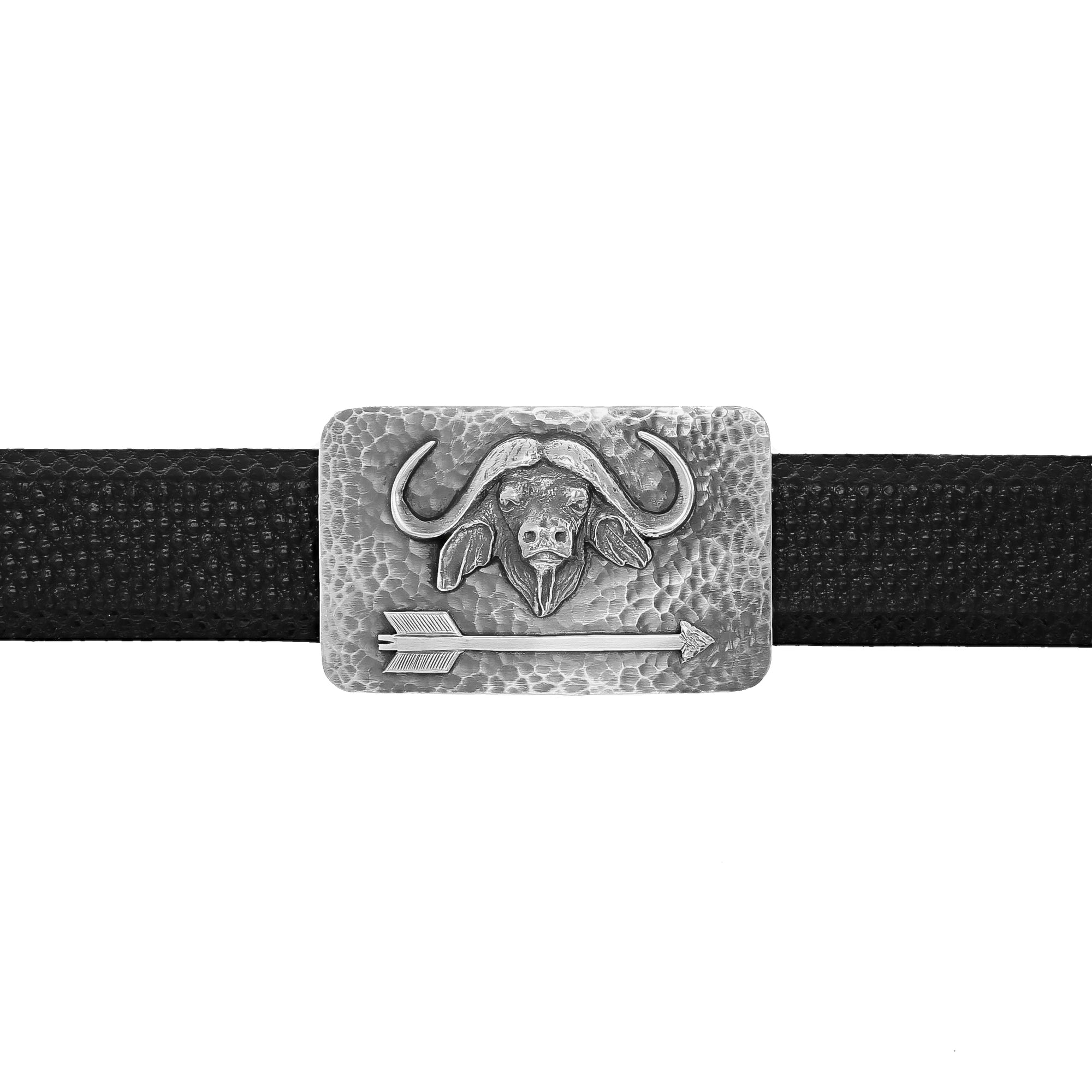 Zavala 1416 Cape Buffalo & Arrow Trophy buckle