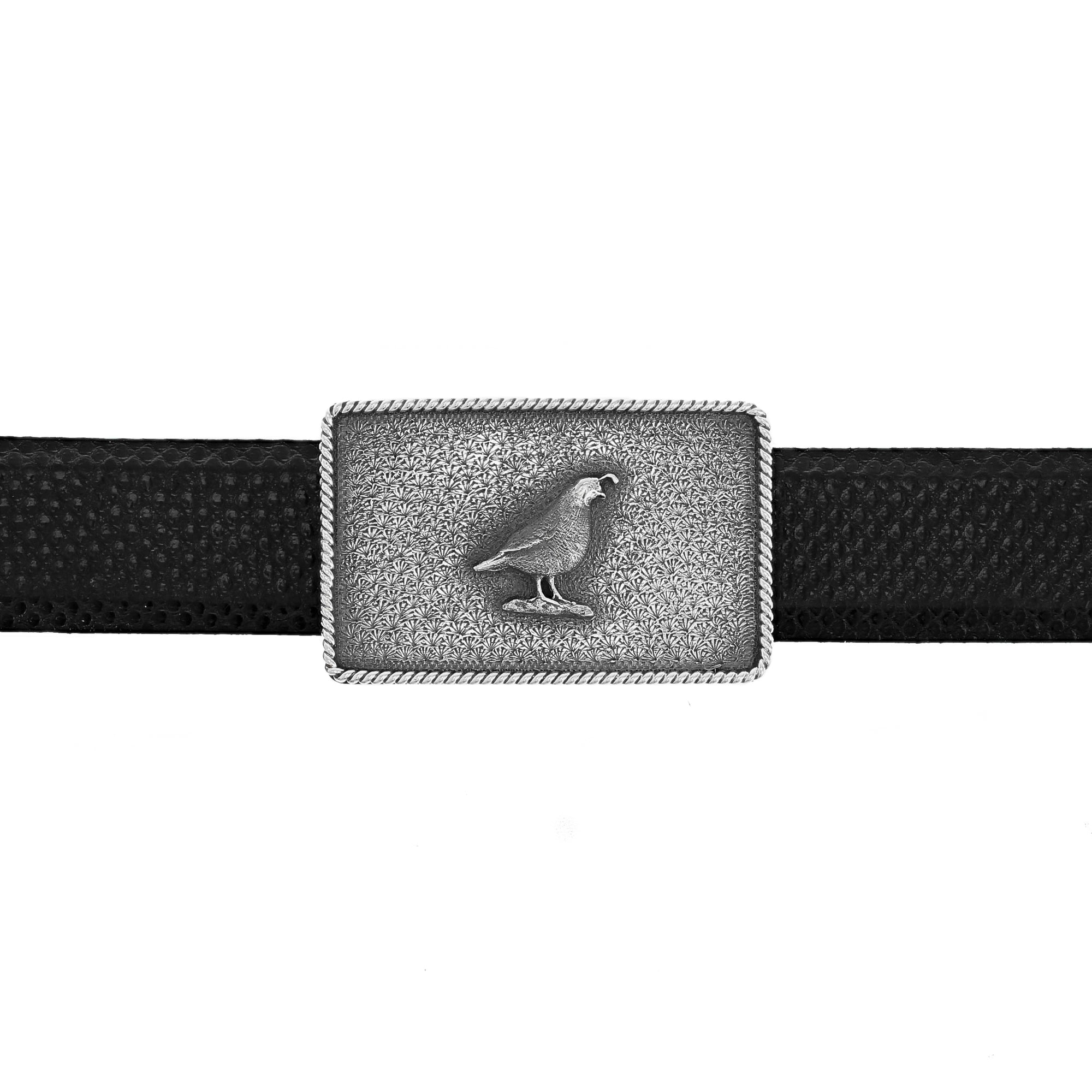 Zavala 1654 California Quail Trophy Buckle