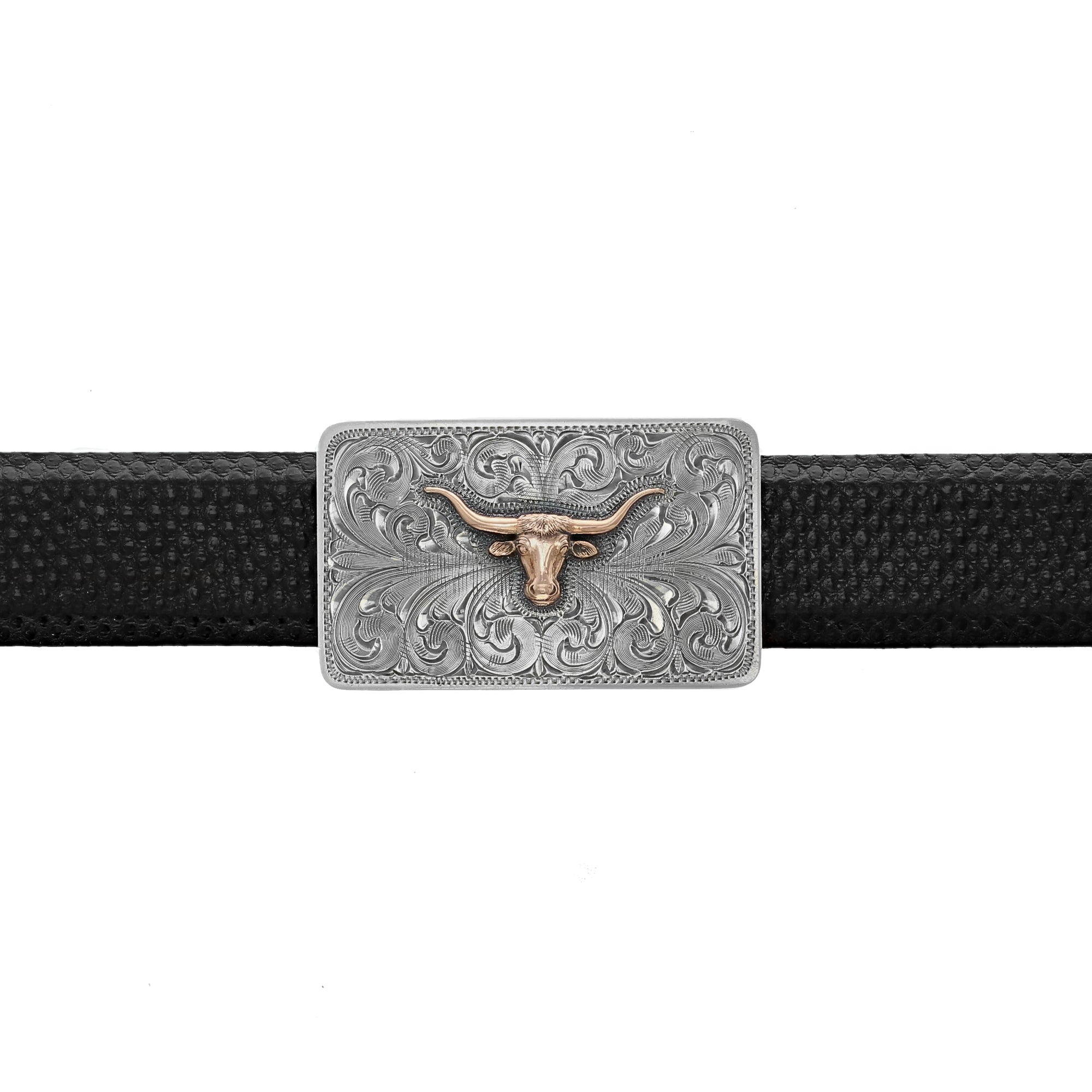 Zavala 1811 Rose Gold Longhorn Trophy Buckle