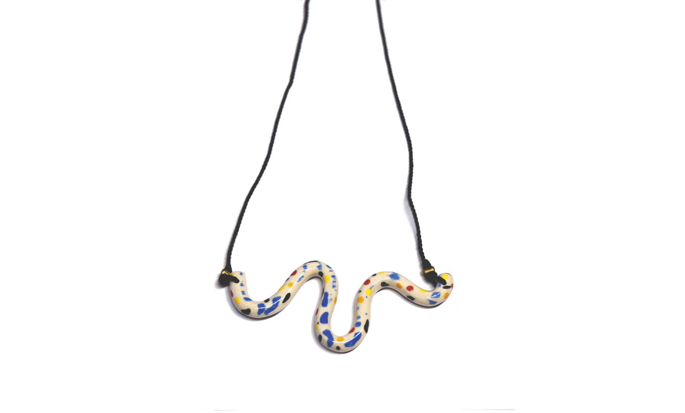 Aliyah Hussain Wave Necklace