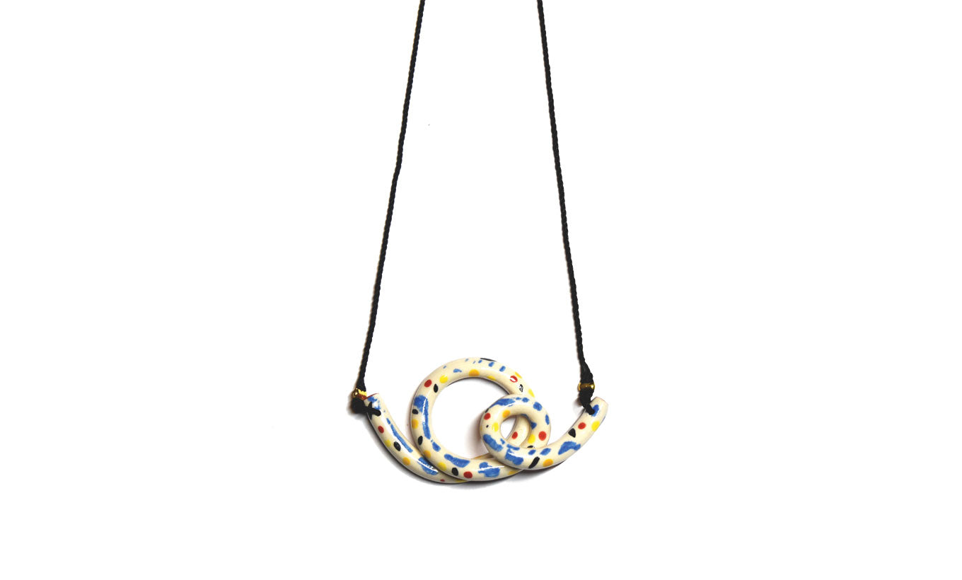 Aliyah Hussain Double Loop Necklace