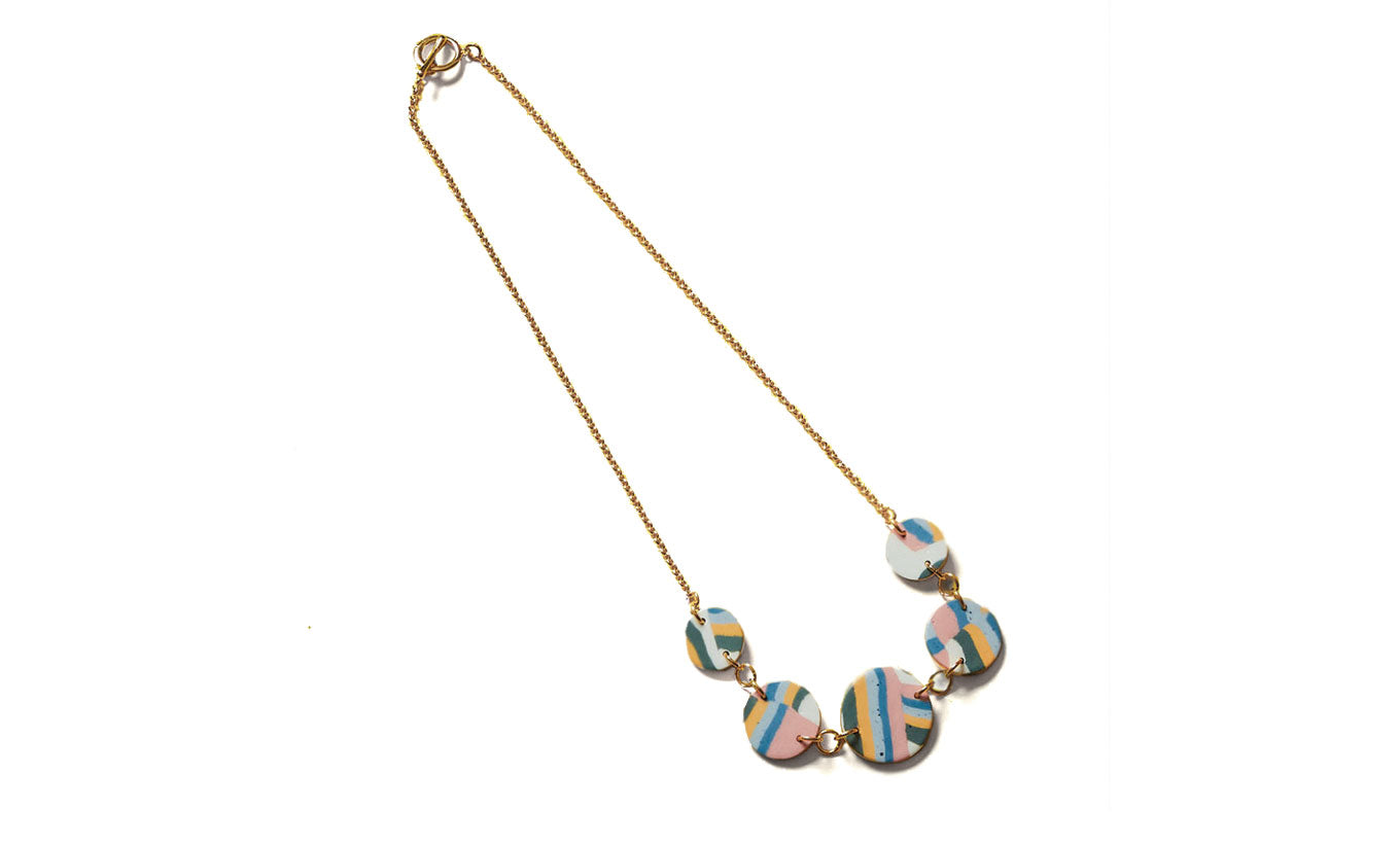 Aliyah Hussain Strata Necklace
