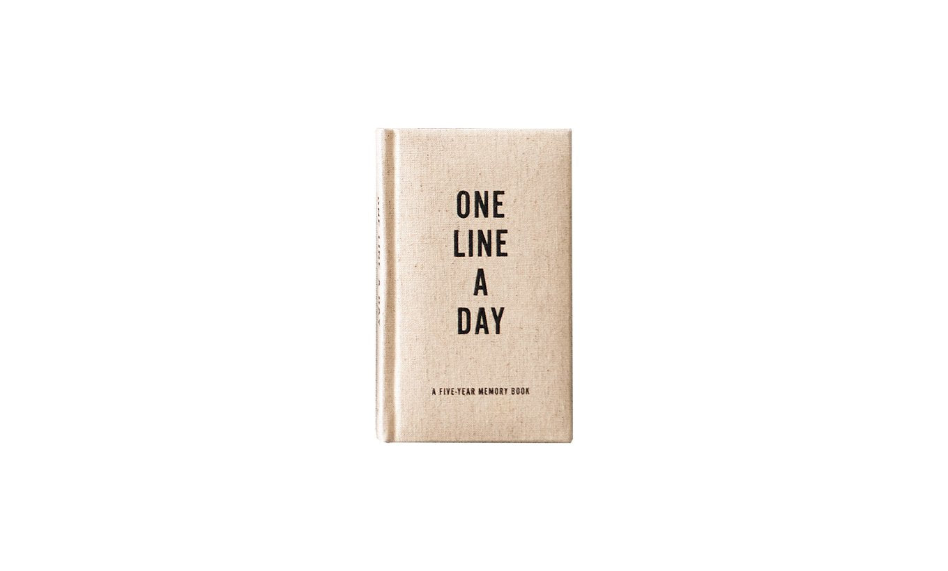 One Line a Day Canvas Diary