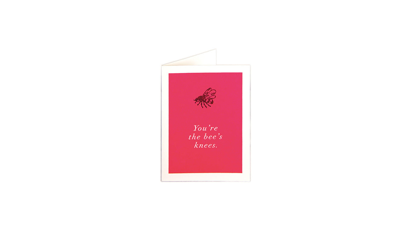 Bees Knees Greetings Card