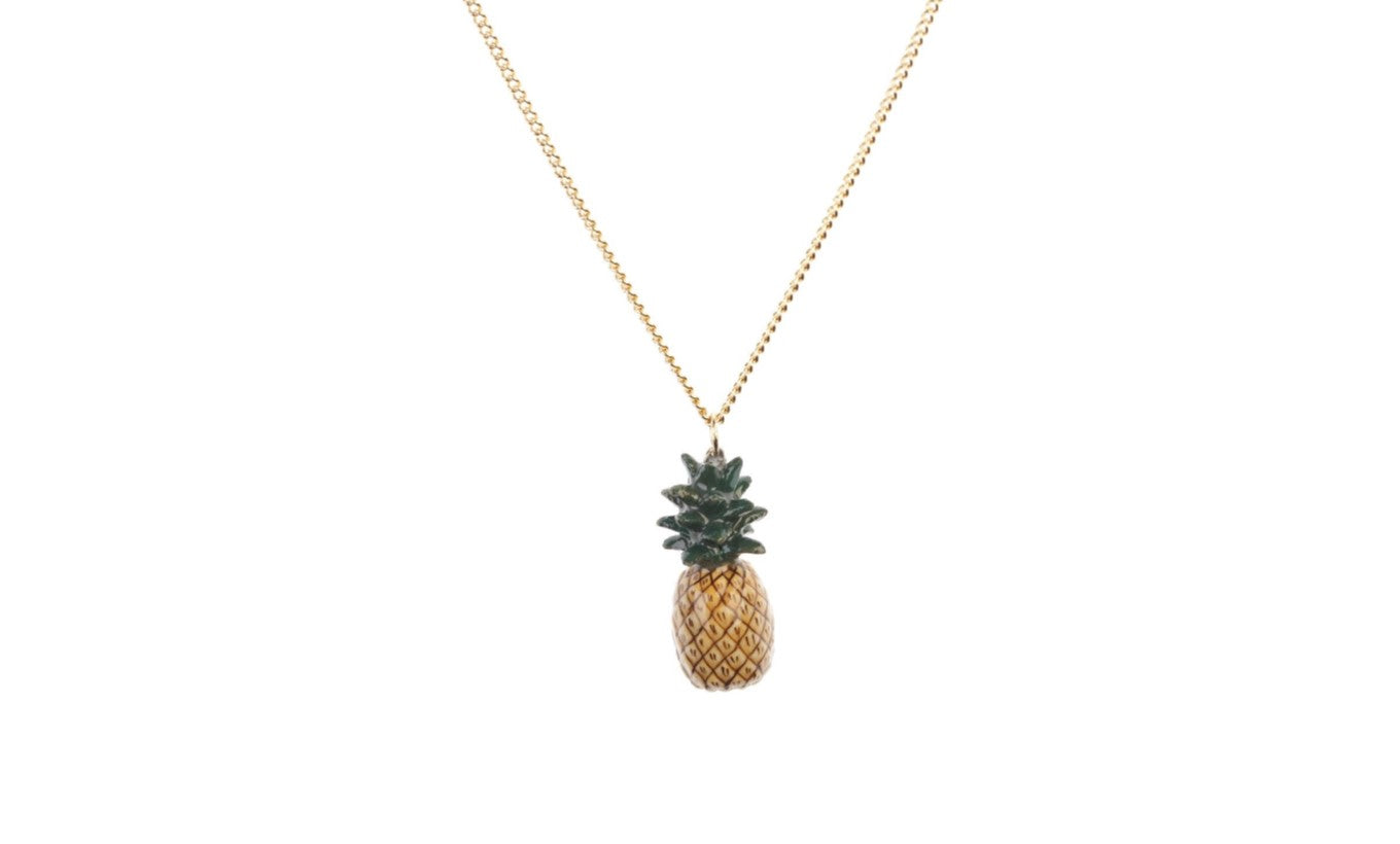And Mary Pineapple Necklace