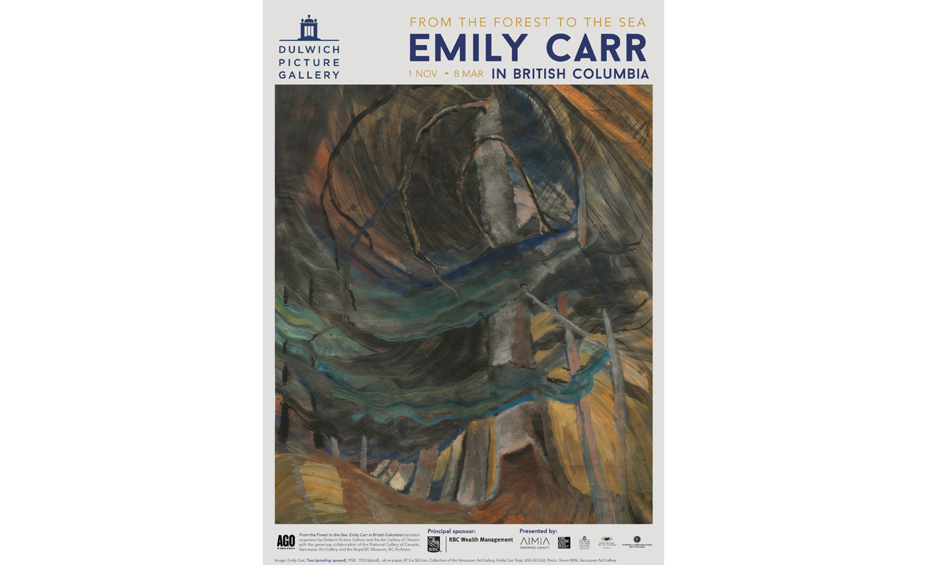 Emily Carr Exhibition Poster