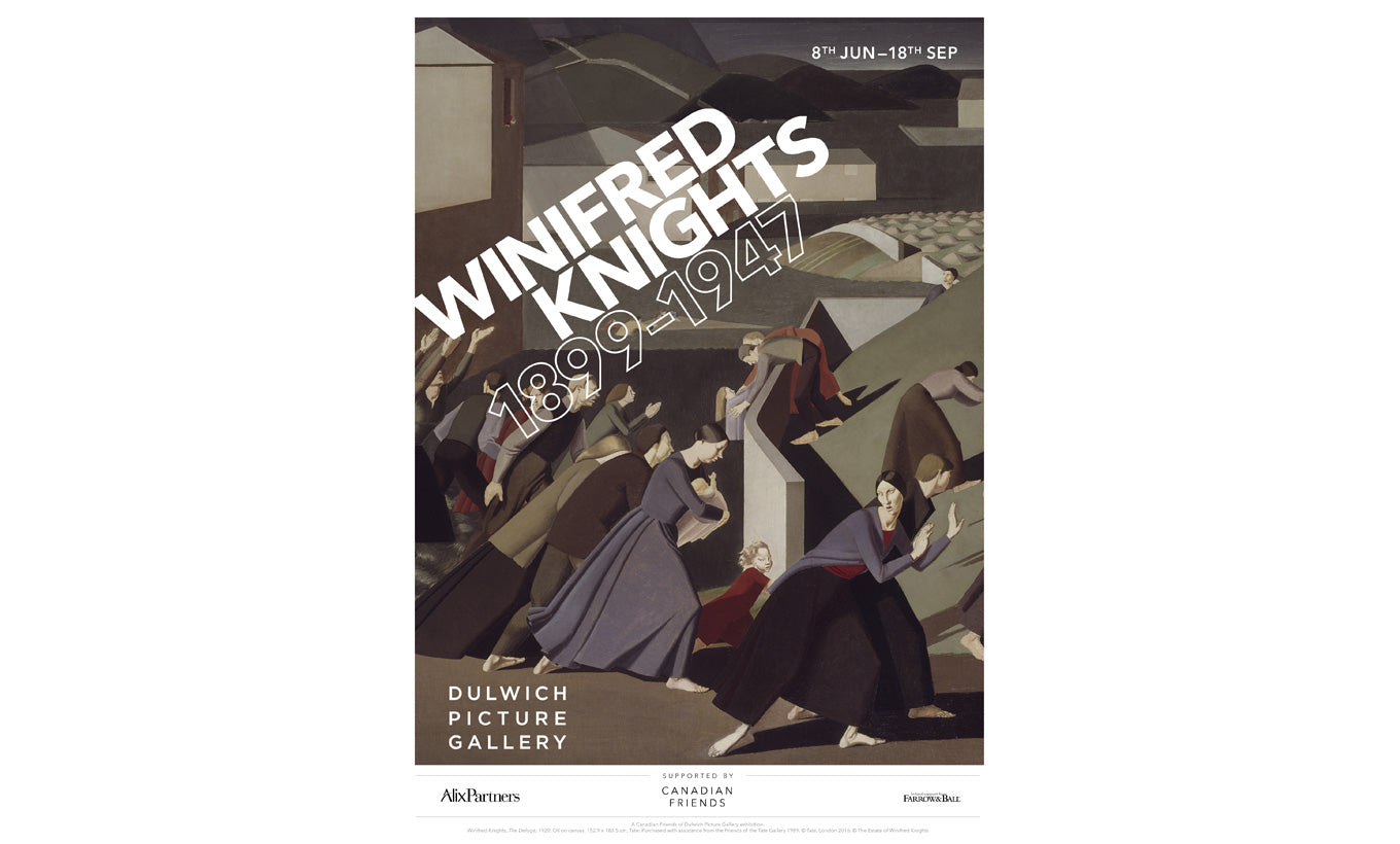 Winifred Knights Exhibition Poster