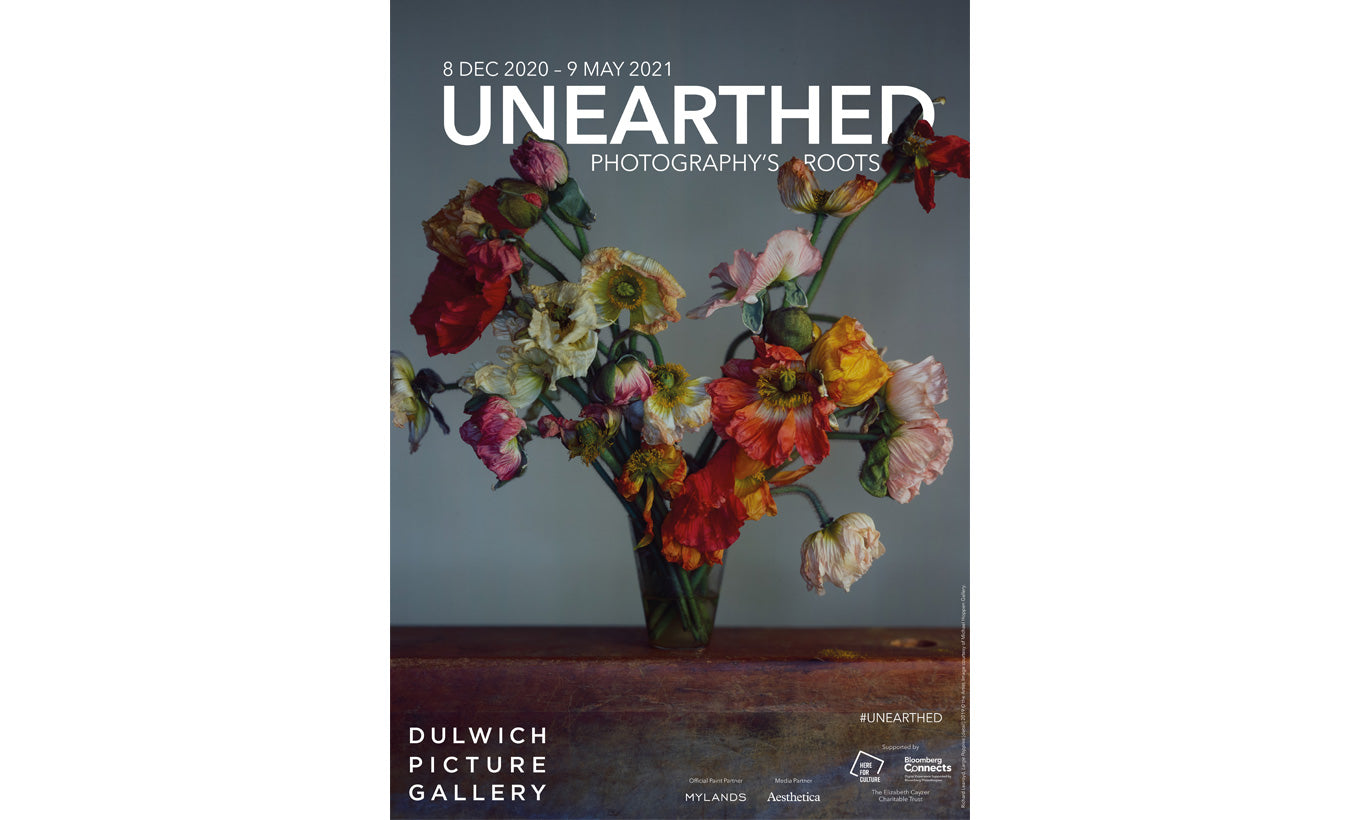 Unearthed Exhibition Poster