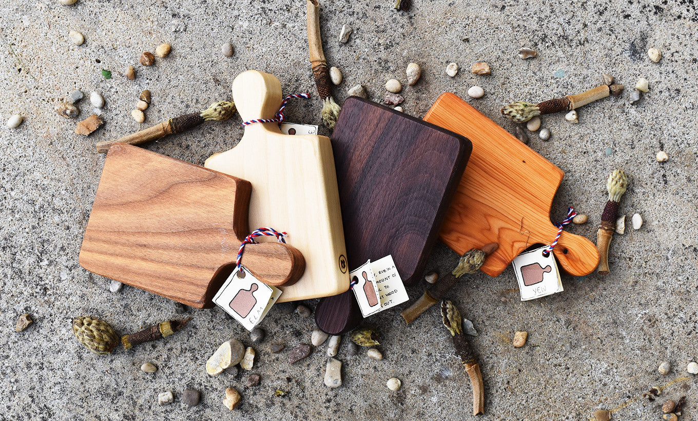 Mini Chopping Boards by Rosie Brewer