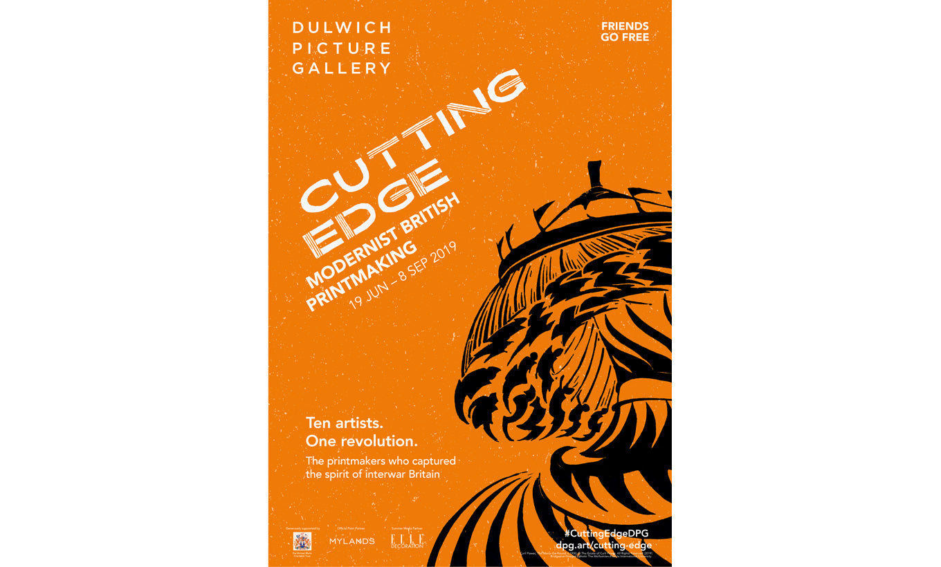 Cutting Edge Exhibition Poster
