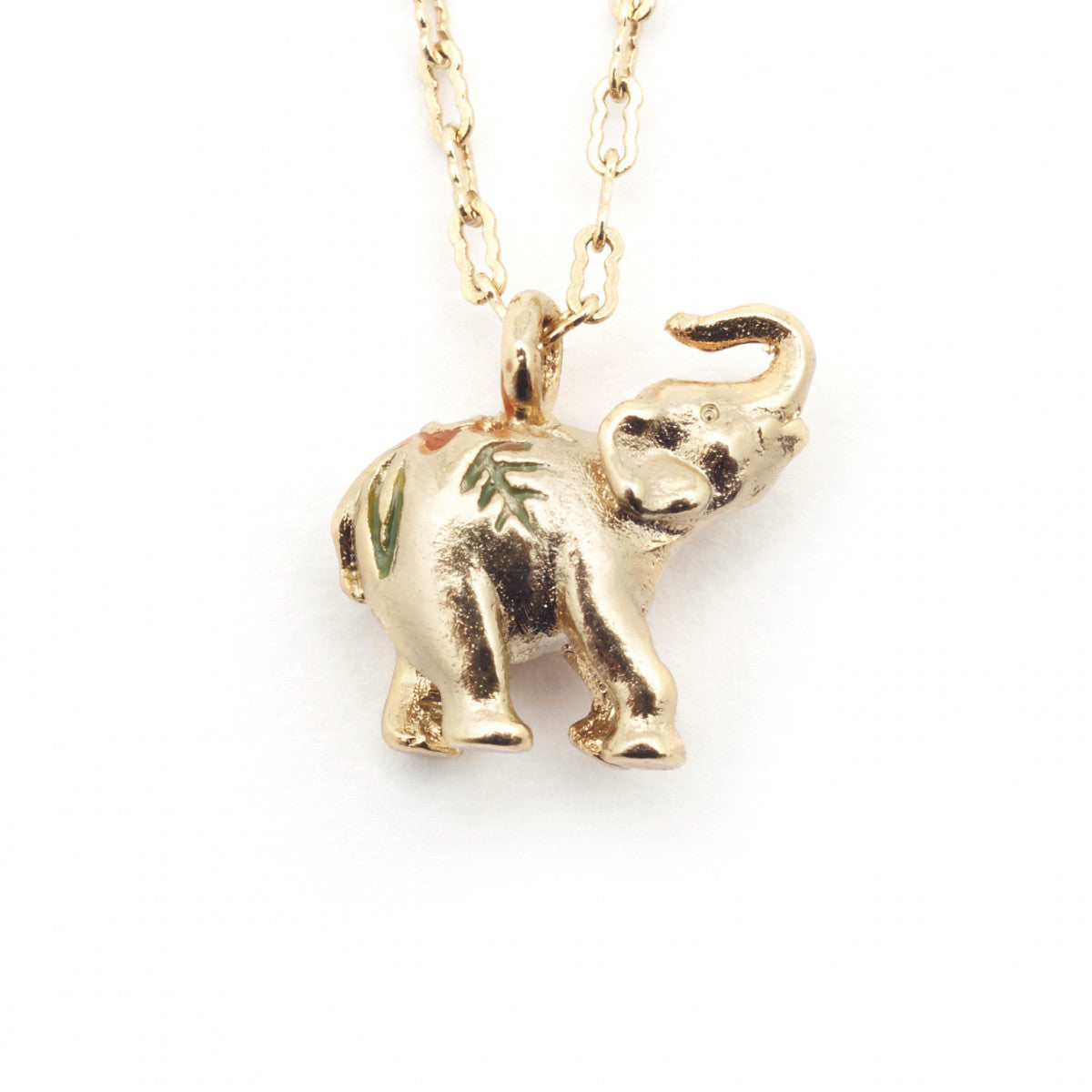 Bill Skinner Elephant Necklace