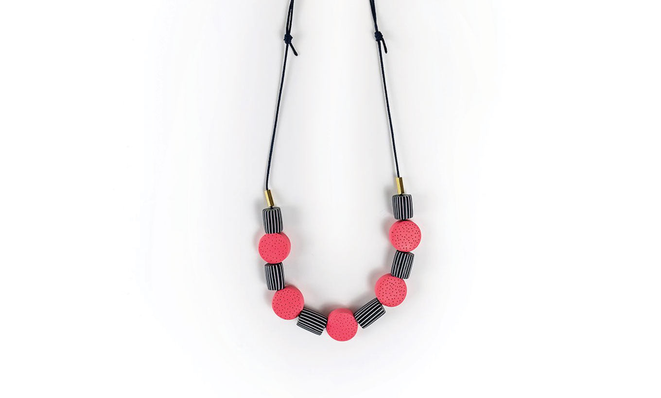 Nadege Honey Design 'Breton Pink' Necklace