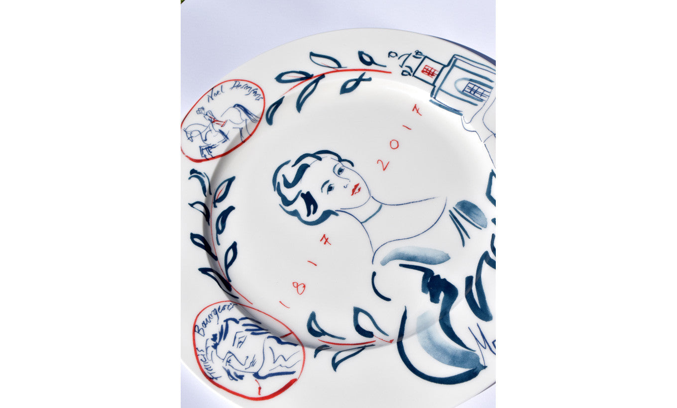 Michaela Gall for DPG Bicentenary Plate