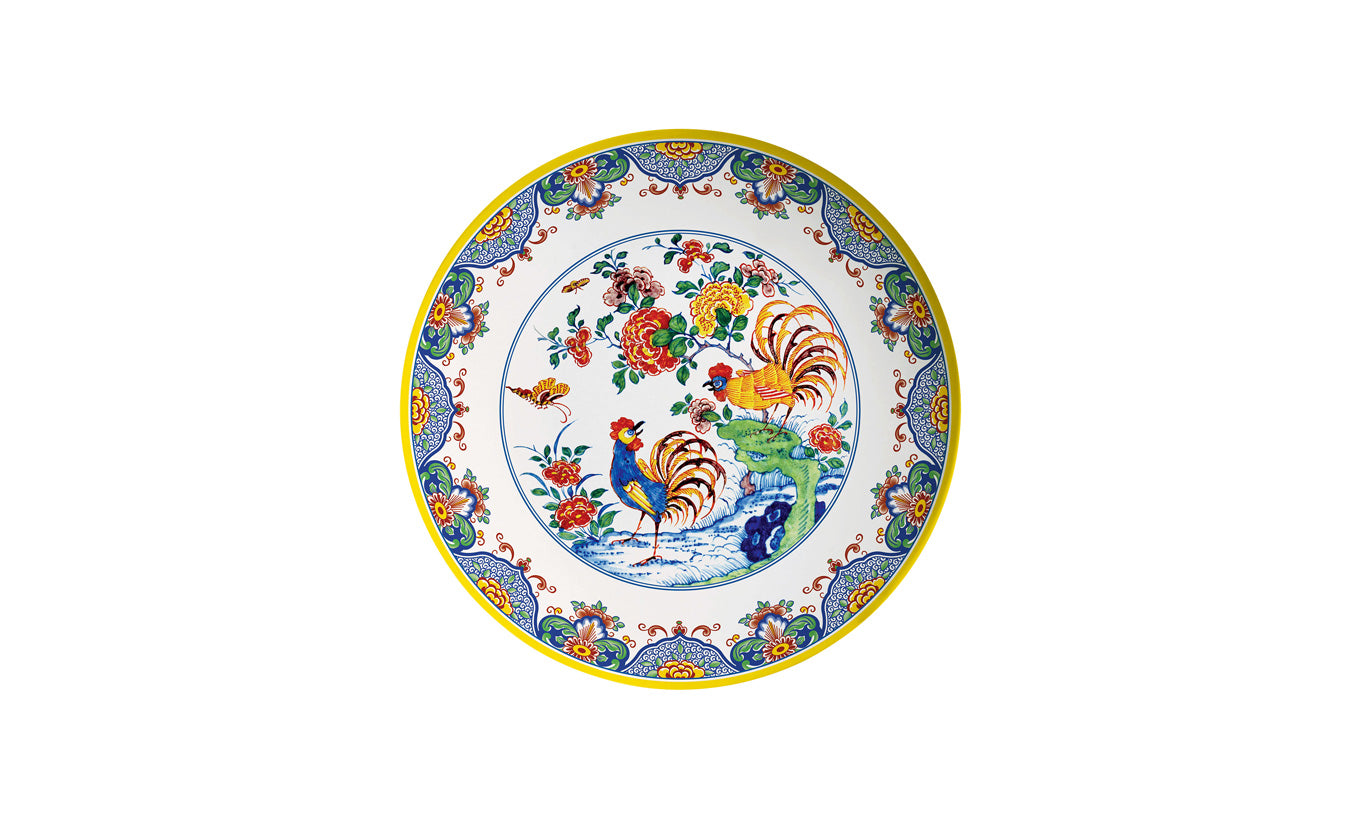 Traditional Dutch Style Melamine Plate