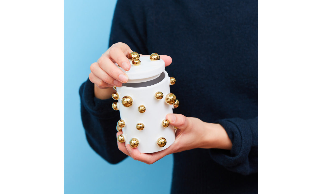 Dotty Ceramic Jar