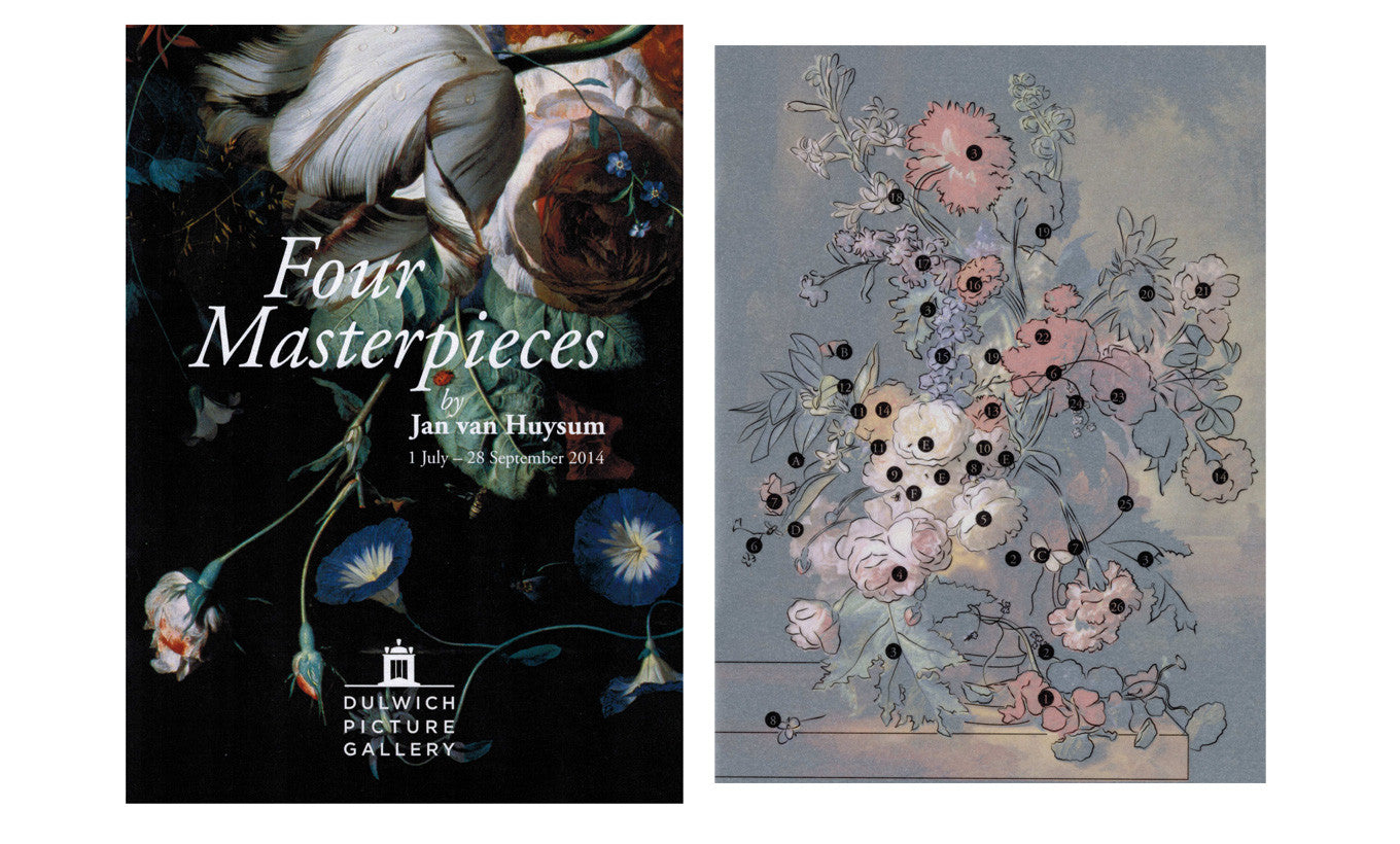 Four Masterpieces by Jan van Huysum Booklet