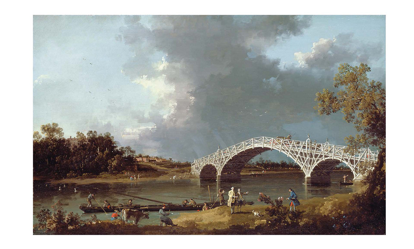 A View of Walton Bridge Mini Print
