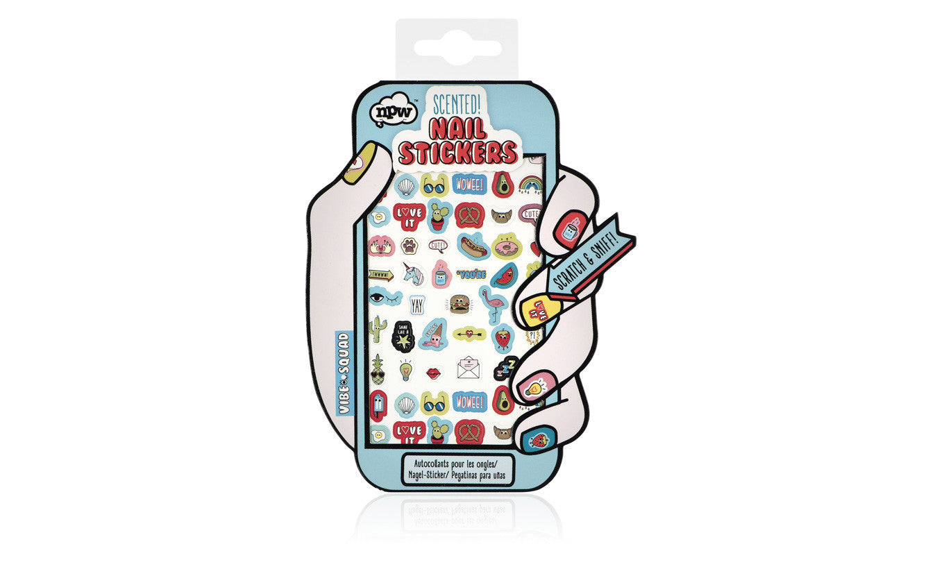 Vibe Squad Scented Nail Stickers