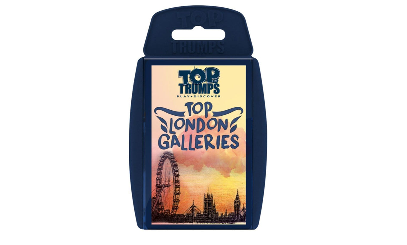 Top Trumps for London Art Galleries