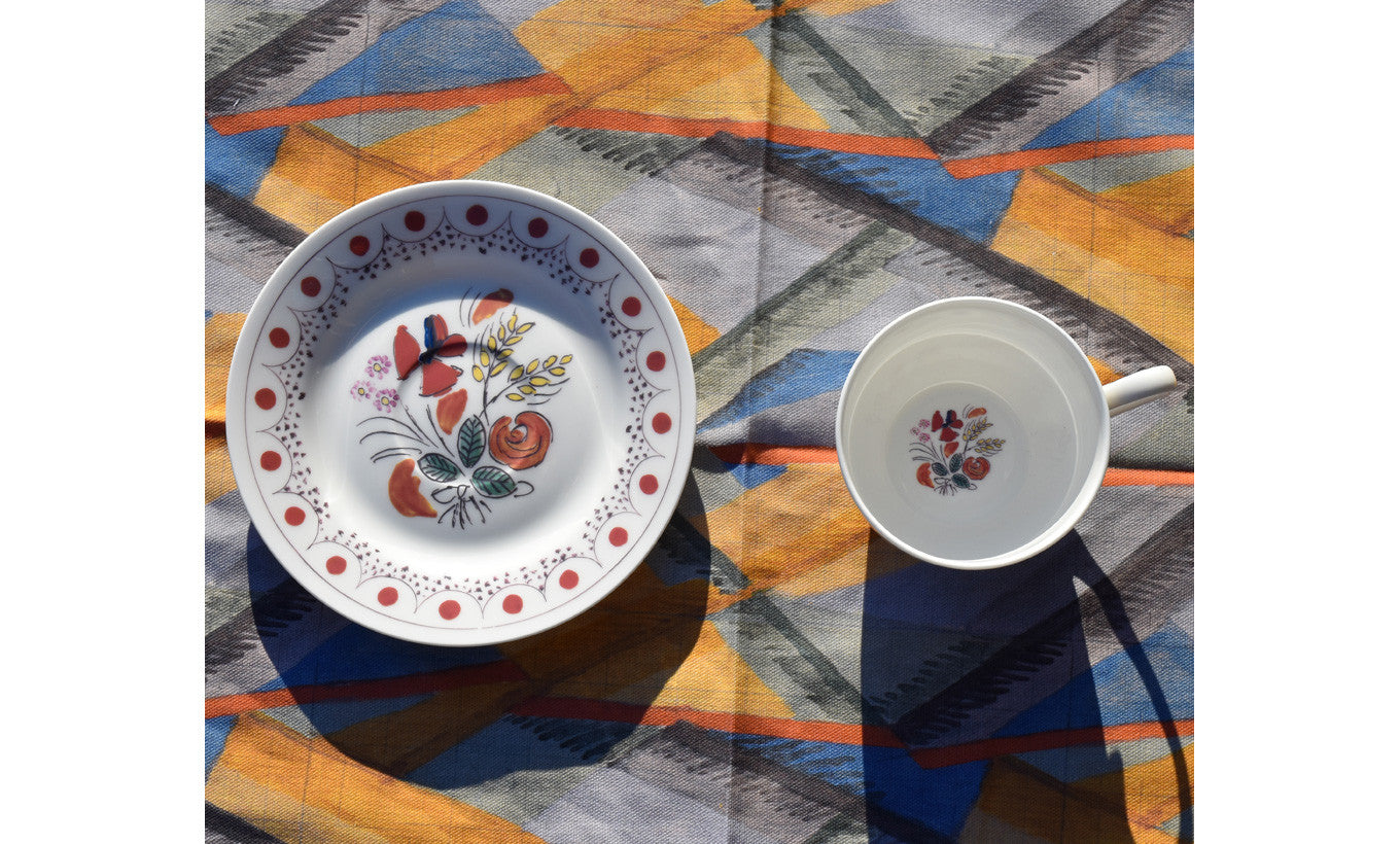 Bloomsbury Poppies Cup and Saucer