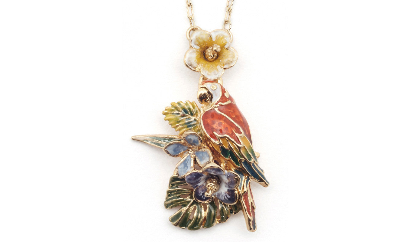 Bill Skinner Parrot Necklace